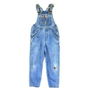 Warner Bros Looney Tunes Blue Overalls Jeans SZ L